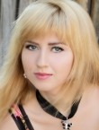 Photo of beautiful  woman Julia with blonde hair and grey eyes - 20709