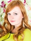 Photo of beautiful  woman Juliya with red hair and green eyes - 21576