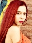 Photo of beautiful  woman July with red hair and brown eyes - 22344