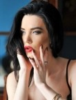 Photo of beautiful  woman Kristilina with black hair and blue eyes - 21935