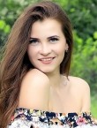 Photo of beautiful  woman Kristina with brown hair and blue eyes - 20691