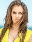 Photo of beautiful  woman Kristina with brown hair and hazel eyes - 21757