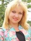 Photo of beautiful  woman Kristina with blonde hair and green eyes - 22240
