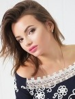 Photo of beautiful  woman Kristina with brown hair and brown eyes - 28000