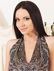 Photo of beautiful  woman Kristina with black hair and grey eyes - 28124