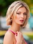 Photo of beautiful  woman Kseniya with blonde hair and green eyes - 28138