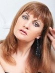 Photo of beautiful  woman Lada with red hair and blue eyes - 20863