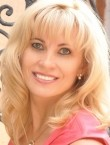 Photo of beautiful  woman Larisa with blonde hair and grey eyes - 20637