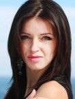 Photo of beautiful  woman Lilia with brown hair and grey eyes - 20548