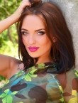 Photo of beautiful  woman Lina with brown hair and blue eyes - 22291
