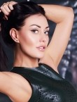 Photo of beautiful  woman Lubov with black hair and green eyes - 28312