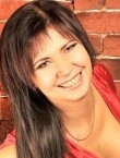 Photo of beautiful  woman Ludmila with brown hair and brown eyes - 21140
