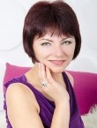 Photo of beautiful  woman Ludmila with brown hair and grey eyes - 27871