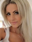 Photo of beautiful  woman Luiza with blonde hair and green eyes - 20409