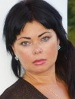 Photo of beautiful  woman Lyudmila with black hair and brown eyes - 20514