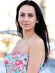 Photo of beautiful  woman Marina with black hair and green eyes - 12980