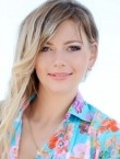 Photo of beautiful  woman Marina with blonde hair and blue eyes - 22141