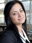 Photo of beautiful  woman Marina with black hair and grey eyes - 22402