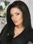 Photo of beautiful  woman Marina with black hair and blue eyes - 28213