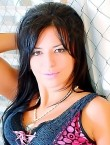 Photo of beautiful  woman Mila with black hair and brown eyes - 21104