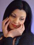 Photo of beautiful  woman Nadejda with black hair and green eyes - 20719