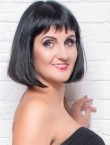Photo of beautiful  woman Natalia with black hair and green eyes - 27692