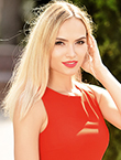 Photo of beautiful  woman Natalia with blonde hair and brown eyes - 29463
