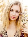 Photo of beautiful  woman Nataliya with blonde hair and green eyes - 28017