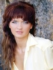 Photo of beautiful  woman Natalya with brown hair and green eyes - 21503