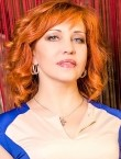 Photo of beautiful  woman Natalya with red hair and green eyes - 28425