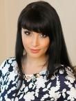 Photo of beautiful  woman Natalya with black hair and brown eyes - 28492