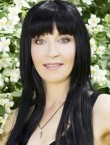 Photo of beautiful  woman Oksana with black hair and grey eyes - 21890