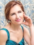 Photo of beautiful  woman Oksana with brown hair and green eyes - 28327