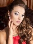 Photo of beautiful  woman Oksana with black hair and grey eyes - 28371