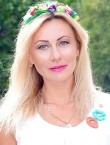 Photo of beautiful  woman Oksana with blonde hair and green eyes - 28462