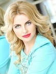 Photo of beautiful  woman Olena with blonde hair and green eyes - 28224