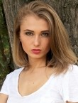 Photo of beautiful  woman Olga with blonde hair and green eyes - 20326