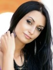 Photo of beautiful  woman Olga with black hair and brown eyes - 20451