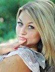 Photo of beautiful  woman Olga with blonde hair and blue eyes - 20796