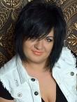 Photo of beautiful  woman Olga with black hair and green eyes - 20935