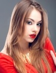 Photo of beautiful  woman Olya with brown hair and blue eyes - 21830