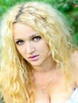 Photo of beautiful  woman Roksolana with blonde hair and green eyes - 20560