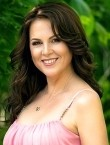 Photo of beautiful  woman Snejana with brown hair and brown eyes - 21743