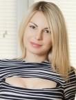 Photo of beautiful  woman Svetlana with blonde hair and brown eyes - 20477