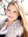 Photo of beautiful  woman Svetlana with light-brown hair and green eyes - 21085