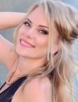 Photo of beautiful  woman Svetlana with blonde hair and grey eyes - 22204