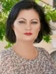 Photo of beautiful  woman Svetlana with black hair and blue eyes - 22389