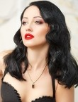 Photo of beautiful  woman Svetlana with brown hair and green eyes - 28181