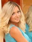 Photo of beautiful  woman Tatiana with blonde hair and blue eyes - 21397