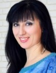 Photo of beautiful  woman Tatyana with black hair and hazel eyes - 21213